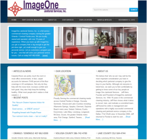 Sample Credibility Website_ImageOne Janitorial Services