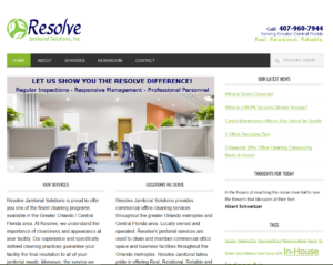 Credibility Website_Resolve Janitorial